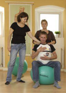 Rückenschulung - Entspannungsübung Kurssituationen